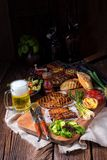 Grilling  fiesta. A fresch and tasty grilling  fiesta Stock Photo