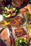 Grilling  fiesta. A fresch and tasty grilling  fiesta Royalty Free Stock Photo