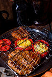 Grilling  fiesta. A fresch and tasty grilling  fiesta Stock Photography