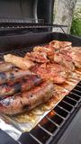 Grilling Food Royalty Free Stock Photos