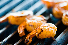 Grilling Royalty Free Stock Photos