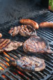 Grilling Meat Stock Photography