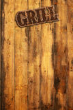 Grilling menu Royalty Free Stock Photography