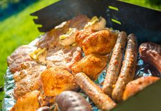 Grilling Time Royalty Free Stock Photo