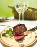 Grilllapje vlees Stock Fotografie