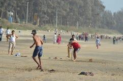 Grillo de la playa Foto de archivo