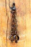 Grillos de las manillas Imagen de archivo libre de regalías