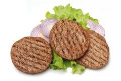 grillowany hamburgera Obraz Royalty Free