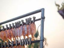 grillowany kałamarnica Obrazy Royalty Free