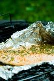 grillowany łososia Obraz Royalty Free