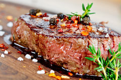 grillowany stek Zdjęcie Stock