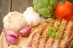 grillowany stek Obraz Stock