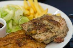 grillowany stek Fotografia Stock