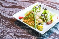 grillowany stek łososia Obrazy Royalty Free