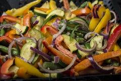 grillowany warzywa Zdjęcia Royalty Free