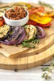 grillowany warzywa fotografia stock