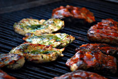Grills Royalty Free Stock Photo