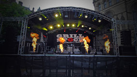 GRILLSTOCK-FESTIVAL MANCHESTER Royaltyfria Foton