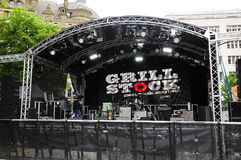 GRILLSTOCK FESTIVAL MANCHESTER Royalty Free Stock Images