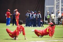 Grilo 2009 de Twenty20 das mulheres do CRNA Imagem de Stock Royalty Free