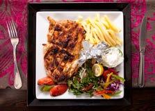 grilowany kurczak Obraz Royalty Free