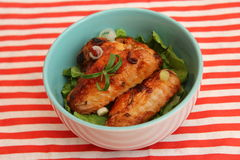 grilowany kurczak Zdjęcie Stock