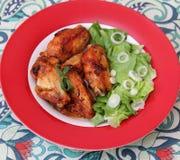 grilowany kurczak Zdjęcia Stock