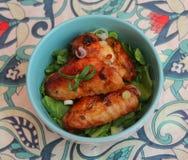 grilowany kurczak Obrazy Stock