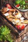 grilowany kurczak nogi Zdjęcie Stock