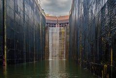 Grim gateway Stock Image