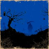 Grim in Halloween night Stock Images