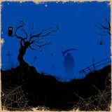 Grim in Halloween night Stock Images