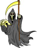 Grim reaper. Is coming after you beware is lethal Royalty Free Stock Images