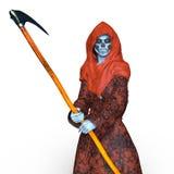 Grim Reaper. 3D CG rendering of a Grim Reaper Royalty Free Stock Image