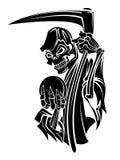 Grim Reaper. Eps 10  illustration Design Stock Image