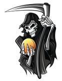 Grim Reaper. Eps 10  illustration Design Royalty Free Stock Image