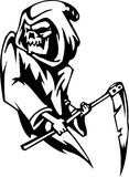 Grim reaper - Halloween Set - vector illustration Stock Photography