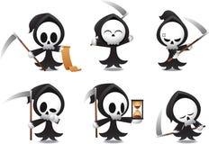Grim Reaper icons Halloween Royalty Free Stock Photo