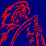 Grim Reaper Illustration Stock Images