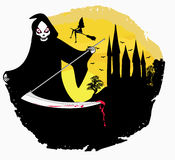 Grim reaper illustration Stock Photo