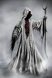 Grim Reaper. Illustration of a Grim Reaper or fantasy evil spirit. Digital painting royalty free illustration