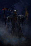 Grim Reaper Illustration Royalty Free Stock Photography
