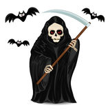 Grim Reaper isolated for Halloween Royalty Free Stock Photo