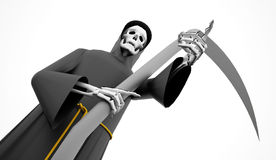 Grim Reaper rendered Stock Photography