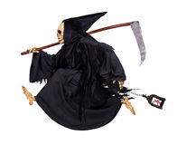 Grim Reaper runs Stock Photos