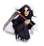 Grim reaper with scythe Stock Image