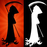 Grim Reaper Set. An image of a grim reaper set stock illustration