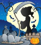 Grim reaper theme image 2 Stock Photography