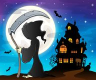 Grim reaper theme image 8. Eps10 vector illustration Royalty Free Stock Photos