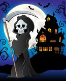 Grim reaper theme image 7. Eps10 vector illustration Royalty Free Stock Images